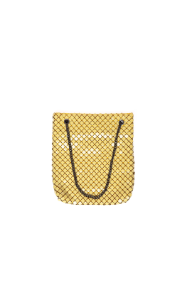 Yellow Brass Shoulder Bag-0