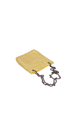 Yellow Brass Shoulder Bag-1