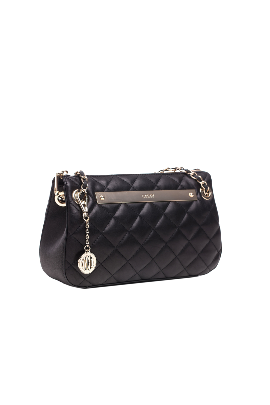 Black Quilted Leather Bag
