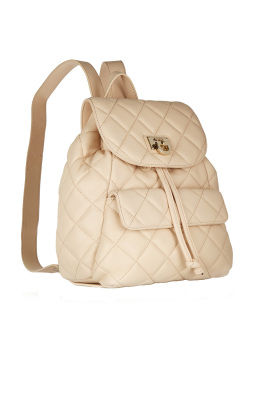 Quilted Leather Backpack-2