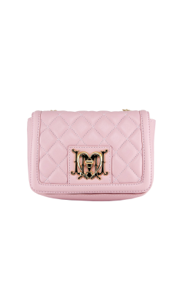 Pink Joy Bag With Chain-0