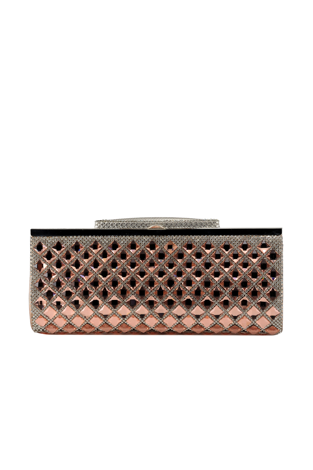 Peach Crystal Paradise Clutch