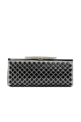 Black Crystal Paradise Clutch-0