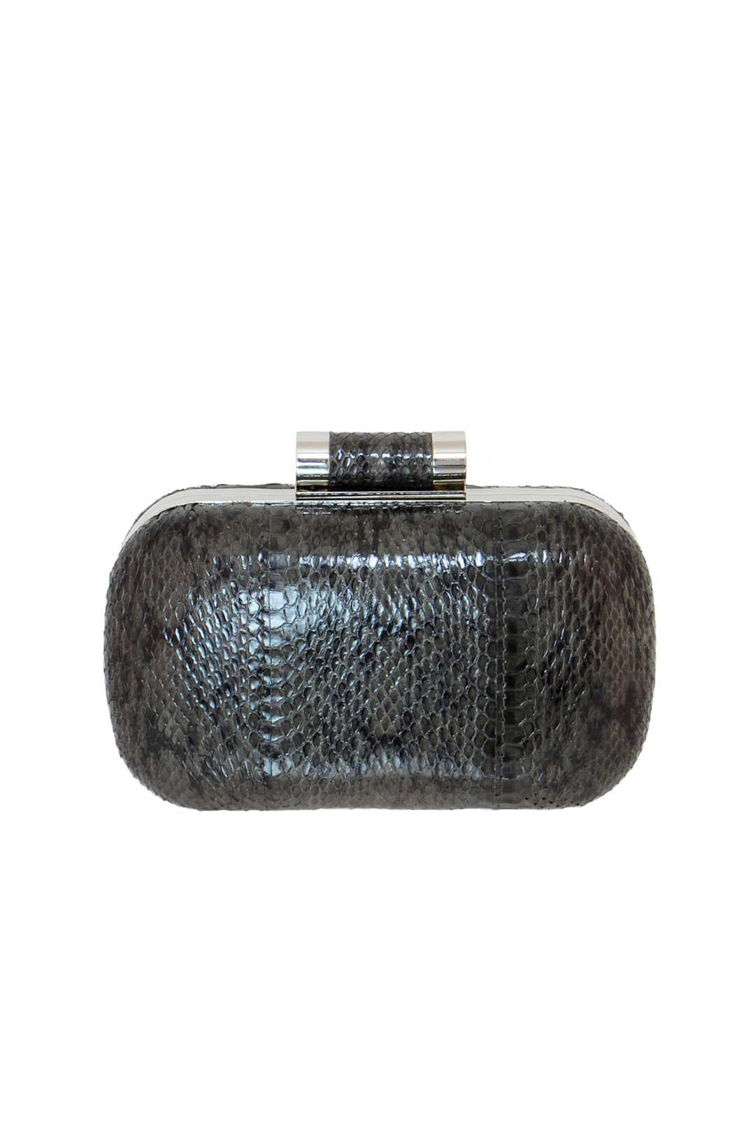 Grey Lia Clutch
