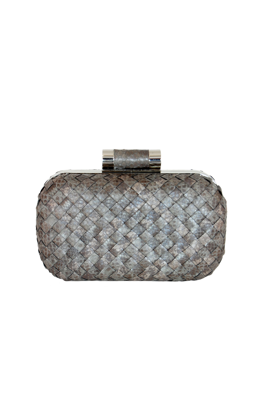 Multi Grey Lia Clutch