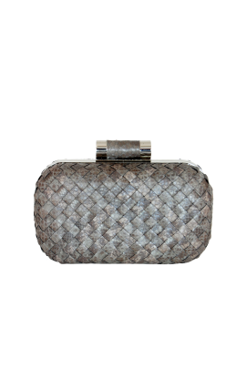 Multi Grey Lia Clutch-0