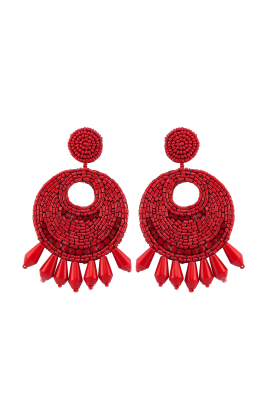 Red Gipsy Earrings -0