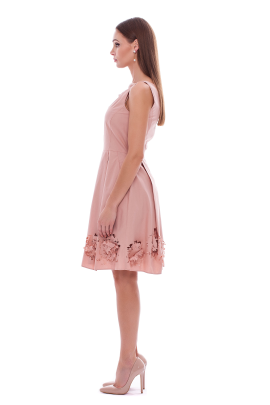 Pastel Flower Cutting Dress-1