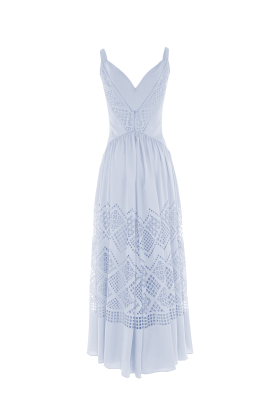 Pale Blue Azure Dress-0