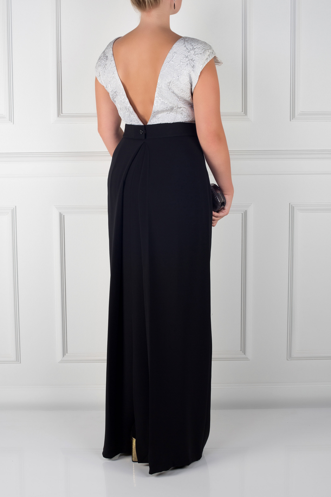 Sloane Two-tone Gown