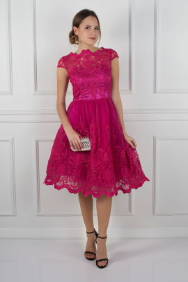 Fuschia Suki Dress-0