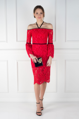 Red Odette Dress / VILNIUS-0