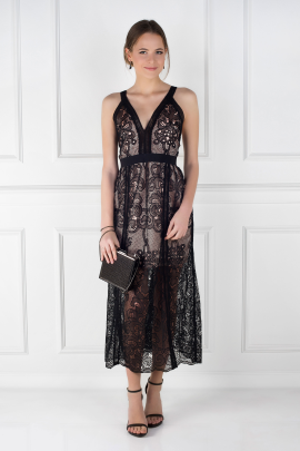 Wanderlust Lace Dress -0