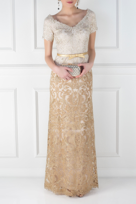 Golden Mito Gown -0