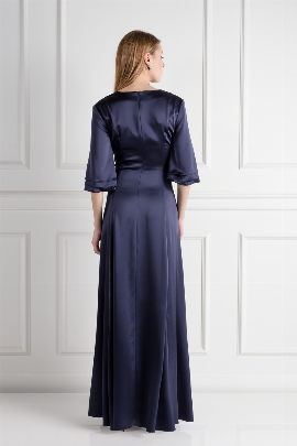 Navy Onyx Dress / VILNIUS-1