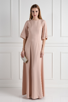 Blush Onyx Evening Dress-0