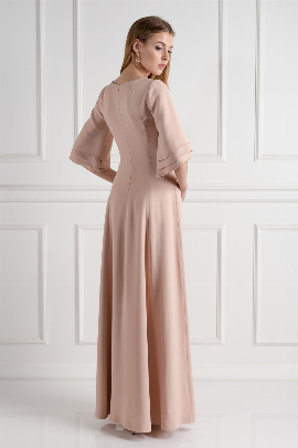 Blush Onyx Evening Dress-2
