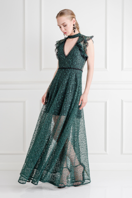 Eleanora Emerald Gown-1