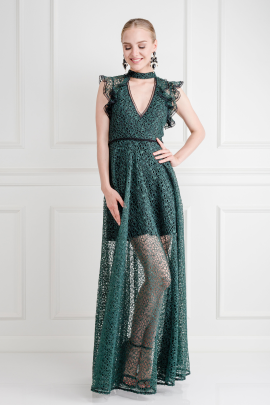Eleanora Emerald Gown -1