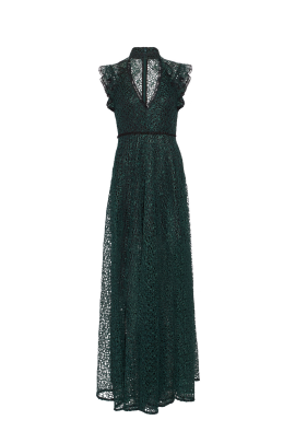 Eleanora Emerald Gown -3