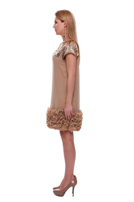 Coffee Coctail Dress-1