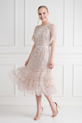 * Constellation Lace Dress-0