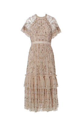 * Constellation Lace Dress-1
