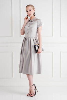 Silk Satin Anna Dress /VILNIUS-1