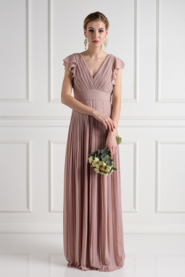 Lyon Pale Mauve Dress-0