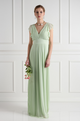Lyon Spring Green Dress-0