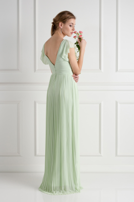 Lyon Spring Green Dress -2