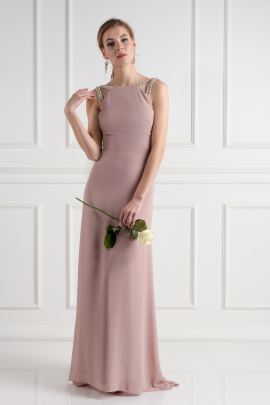 Riva Pale Mauve Dress-0
