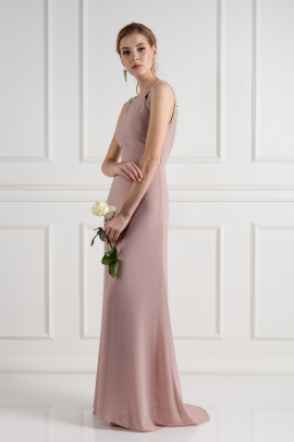 Riva Pale Mauve Dress-1