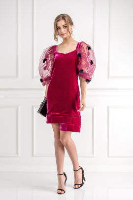 Rose Sophie Robe Dress /VILNIUS-0