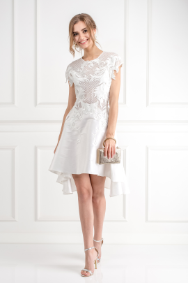 Chariots Of Fire Lace Dress -0