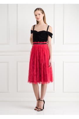 Chantilly Rouge Dress -0