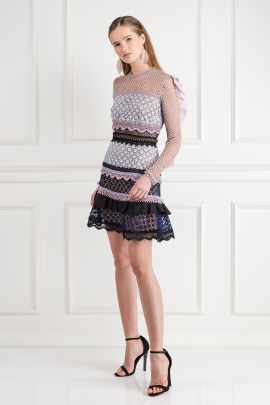 Bellis Lace Trim Dress / VILNIUS-2