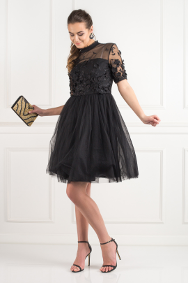 Oria Black Dress -1