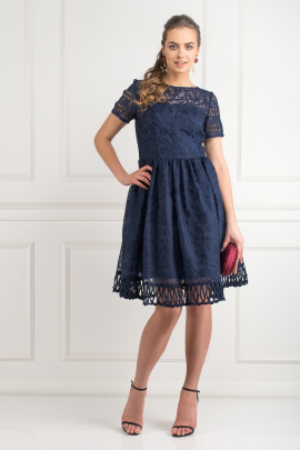 Sheridan Navy Dress -0