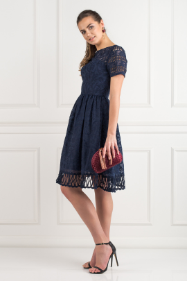 Sheridan Navy Dress-1