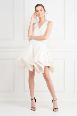 White Claudia Dress-0