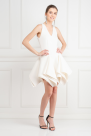 White Claudia Dress