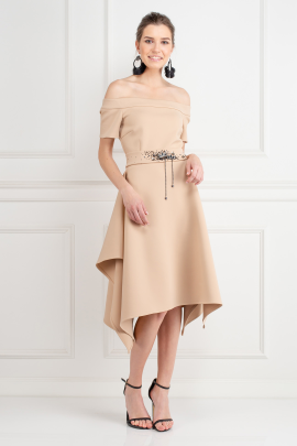 Beige Miranda Dress-1