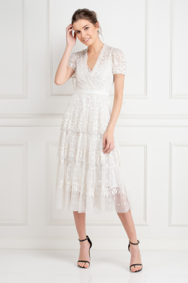 Layered Lace Dress-0