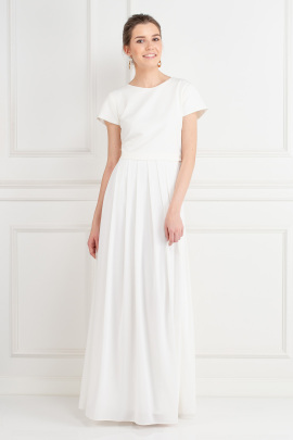 White Snow Maxi Dress-0
