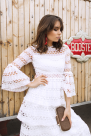 White Liliane Dress / VILNIUS