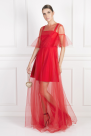 Red Adele Dress