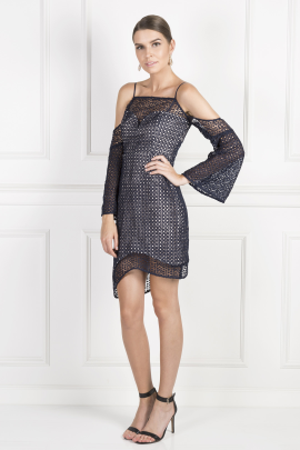 Countdown Lace Mini Dress / VILNIUS-0