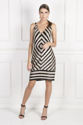 Collection Chevron Dress-0