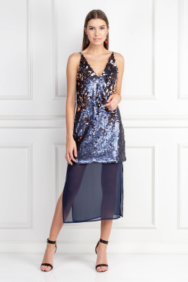 Mountain Sound Sequin Dress-0